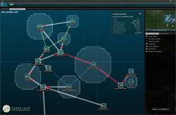 The structure network management and planning interface