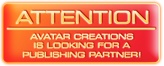 Avatar Creations is looking for partners and investors!